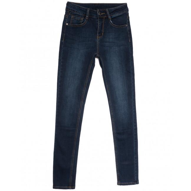 0151 (0151L) Lelena джинсы женские на байке синие зимние стрейчевые (25-30, 6 ед.) Lelena: артикул 1114467