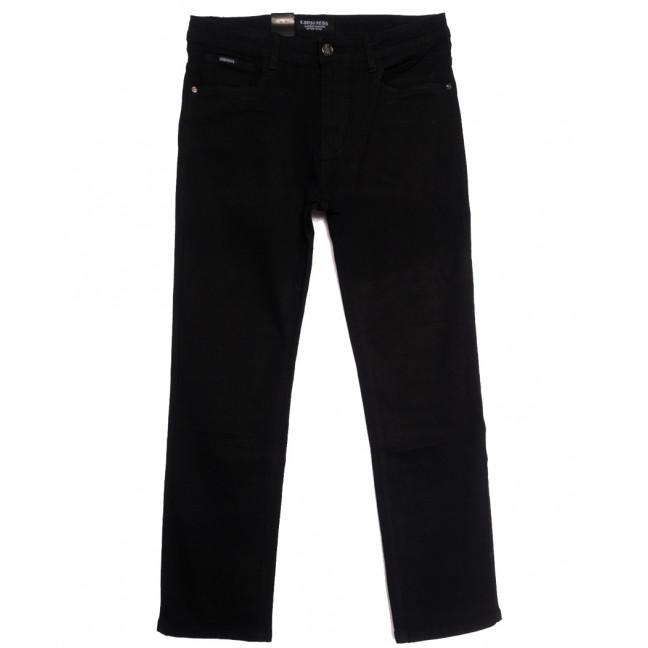 3886 (CR3886D) Crossness джинсы мужские полубатальные черные осенние стрейчевые (32-42, 8 ед.) Crossness: артикул 1113226