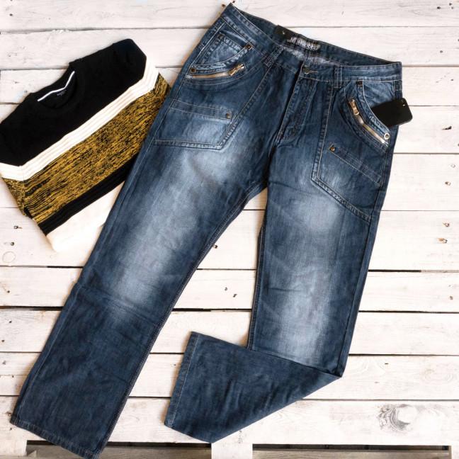 5836 Vigoocc джинсы мужские батальные синие осенние коттоновые (38-46, 6 ед.) Vigoocc: артикул 1112911