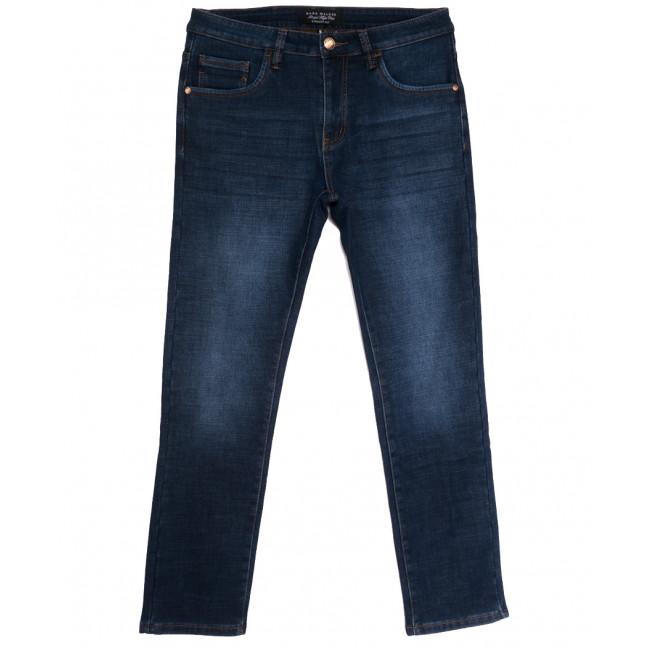 9021 Mark Walker джинсы мужские полубатальные на флисе синие зимние стрейчевые (32-40, 8 ед.) Mark Walker: артикул 1114676