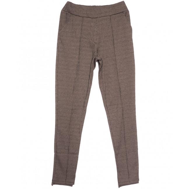 0017 коричневые Exclusive брюки женские осенние стрейчевые (42-48,норма, 4 ед.) Exclusive: артикул 1114600