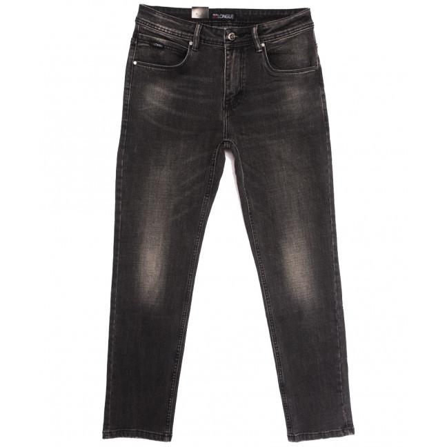 2106 Longli джинсы мужские полубатальные серые осенние стрейчевые (32-38, 8 ед.) Longli: артикул 1114671