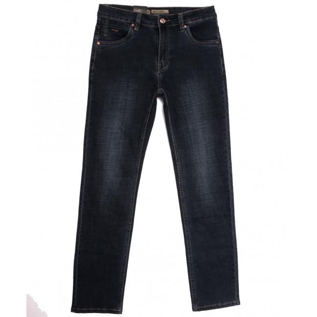 2090 Megoss джинсы мужские полубатальные синие осенние стрейчевые (32-42, 8 ед.) Megoss: артикул 1113223