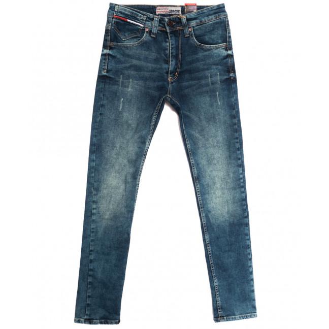6974 Corcix джинсы мужские с царапками синие осенние стрейчевые (29-36, 8 ед.) Corcix: артикул 1113423