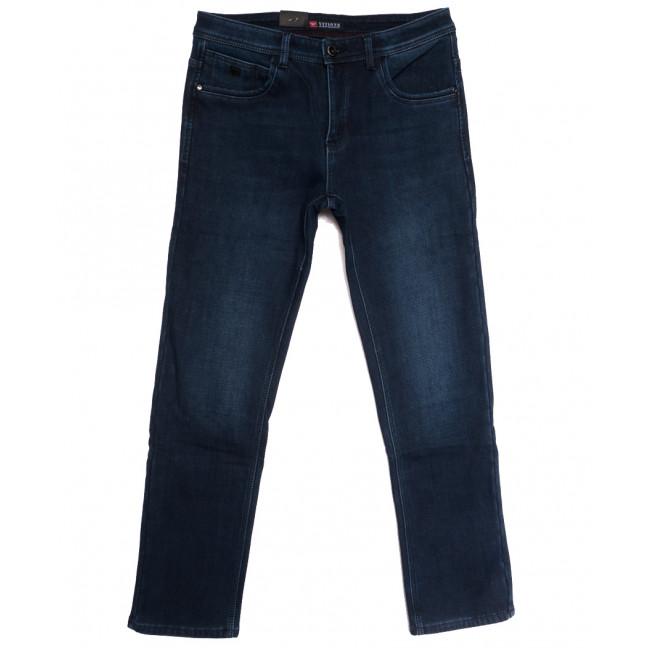 5119 Vitions джинсы мужские полубатальные на флисе синие зимние стрейчевые (32-38, 8 ед.) Vitions: артикул 1114815
