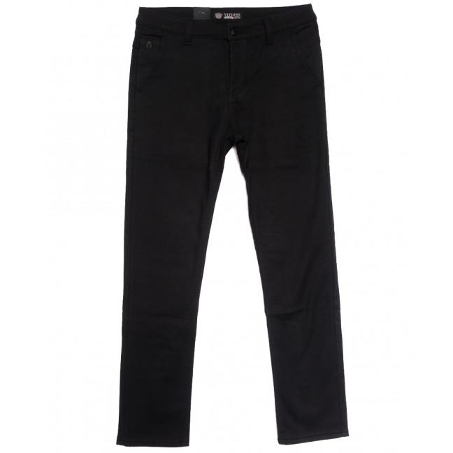 7068 Vitions брюки мужские на флисе черные зимние стрейчевые (29-38, 8 ед.) Vitions: артикул 1114586