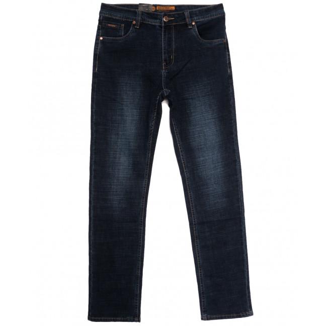 2085 Megoss джинсы мужские полубатальные синие осенние стрейчевые (32-42, 8 ед.) Megoss: артикул 1113222