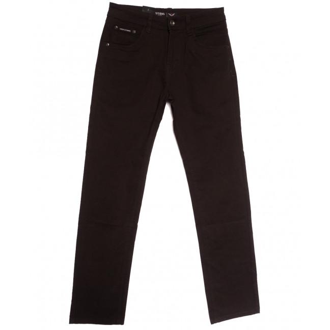 7050 Vitions джинсы мужские коричневые осенние стрейчевые (30-40, 8 ед.) Vitions: артикул 1113604