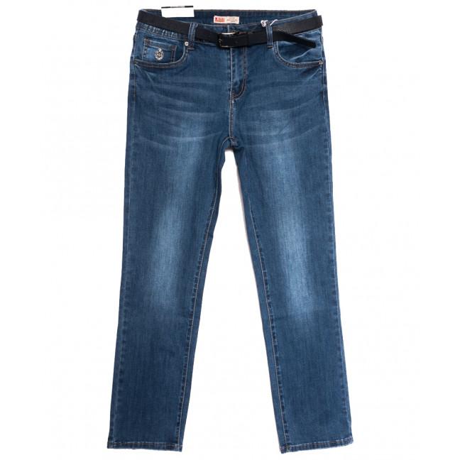 6675 M.Sara джинсы женские батальные синие осенние стрейчевые (31-42, 6 ед.) M.Sara: артикул 1113546