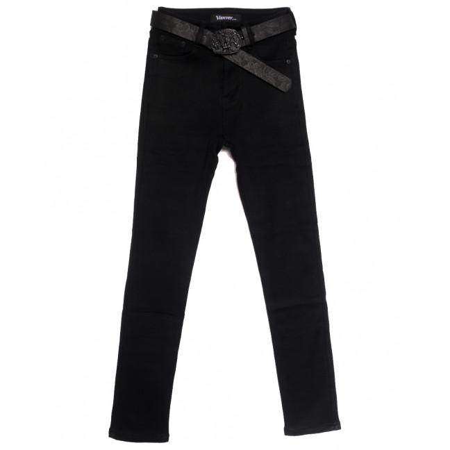 81517 Vanver джинсы женские на флисе черные зимние стрейчевые (25-30, 6 ед.) Vanver: артикул 1114780