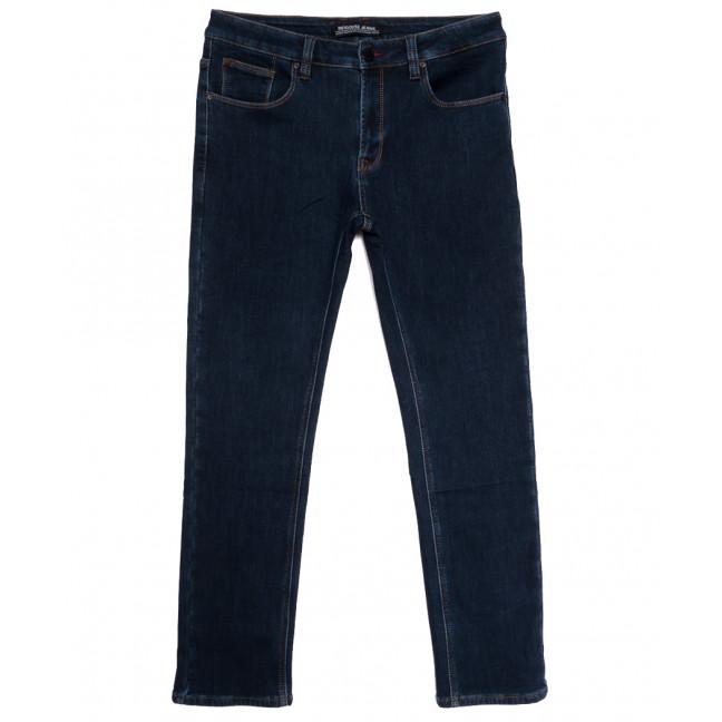 02177 Reigouse джинсы мужские полубатальные на флисе темно-синие зимние стрейчевые (32-40, 8 ед.) REIGOUSE: артикул 1114679