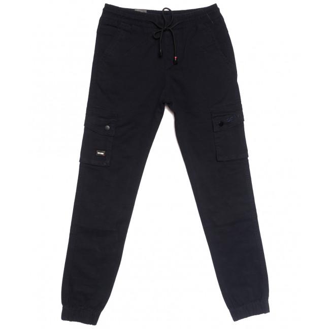 7032 (7032АТ) Vitions джинсы на резинке на мальчика темно-синие осенние стрейчевые (24-30, 7 ед.) Vitions: артикул 1113606