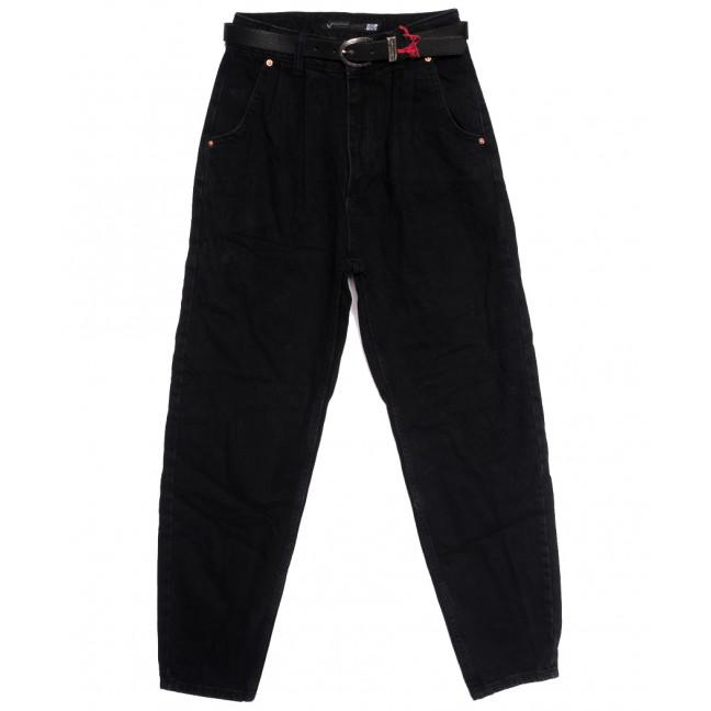 0927 Sherocco джинсы-баллон черные осенние коттоновые (25-30, 6 ед.) SheRocco: артикул 1114432