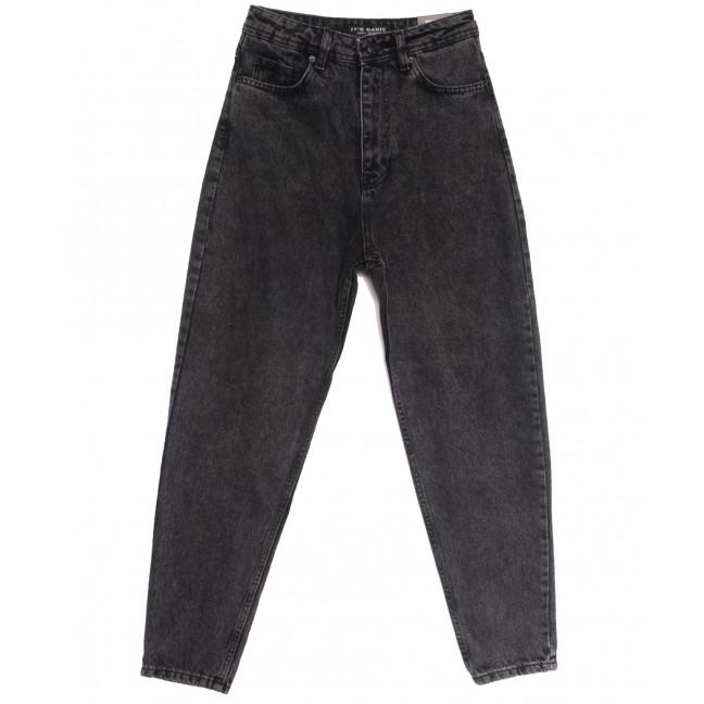 1777-4 Fume Its Basic джинсы-баллон серые осенние коттоновые (34-42,евро, 6 ед.) Its Basic: артикул 1114328