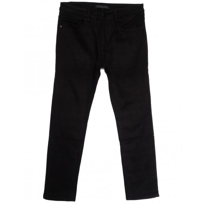 01377 Reigouse джинсы мужские полубатальные на флисе черные зимние стрейчевые (32-42, 8 ед.) REIGOUSE: артикул 1114683