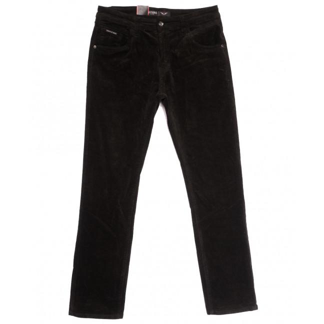 7027 (7027D) Vitions брюки мужские вельветовые полубатальные хаки осенние стрейчевые (32-42, 8 ед.) Vitions: артикул 1114235