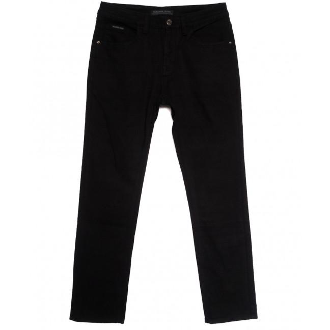 01977 Reigouse джинсы мужские полубатальные на флисе черные зимние стрейчевые (32-40, 8 ед.) REIGOUSE: артикул 1114682