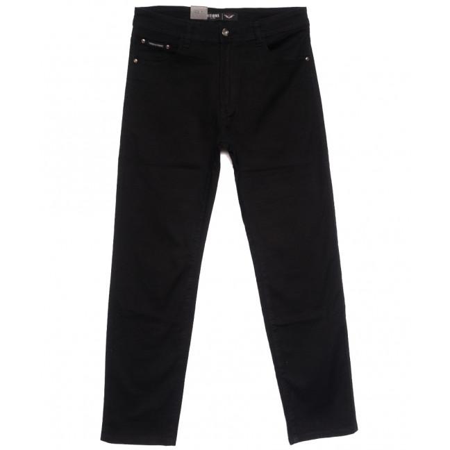 7051 (7051D) Vitions джинсы мужские батальные черные осенние стрейчевые (34-44, 8 ед.) Vitions: артикул 1113597