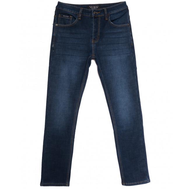 9023 Mark Walker джинсы мужские на флисе синие зимние стрейчевые (30-38, 8 ед.) Mark Walker: артикул 1114691