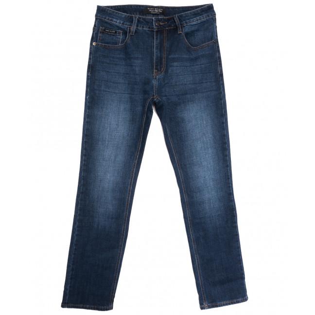 1067 Mark Walker джинсы мужские полубатальные синие осенние стрейчевые (32-42, 8 ед.) Mark Walker: артикул 1113645
