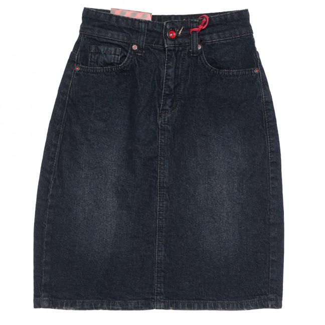 0803 темно-синяя Redmoon юбка джинсовая осенняя стрейчевая (25-30, 6 ед.) REDMOON: артикул 1113994