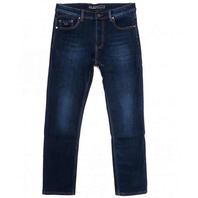 66053 Pr.Minos джинсы мужские полубатальные на флисе синие зимние стрейчевые (32-42, 8 ед.) Pr.Minos: артикул 1114136