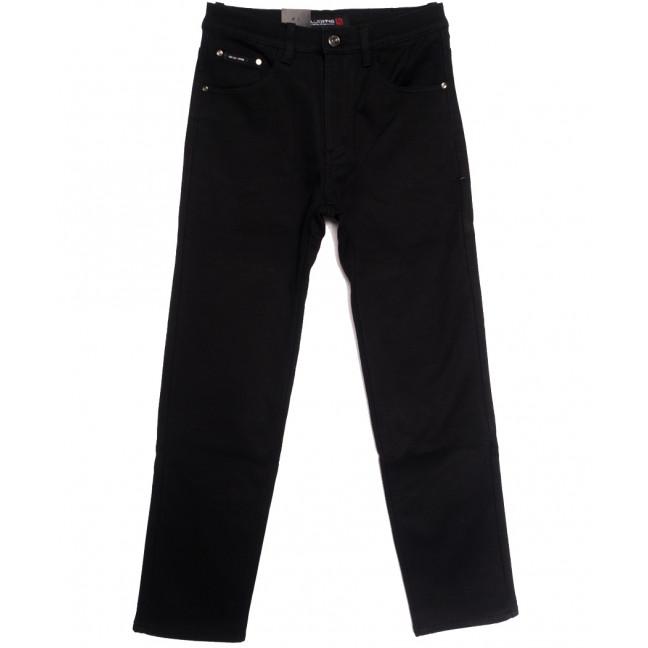 89022 LS джинсы мужские полубатальные на флисе черные зимние стрейчевые (32-38, 8 ед.) LS: артикул 1114821