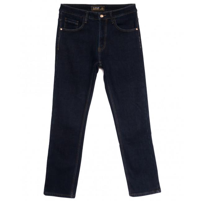 03999 T-Star джинсы мужские полубатальные на флисе темно-синие зимние стрейчевые (32-42, 8 ед.) T-Star: артикул 1114689