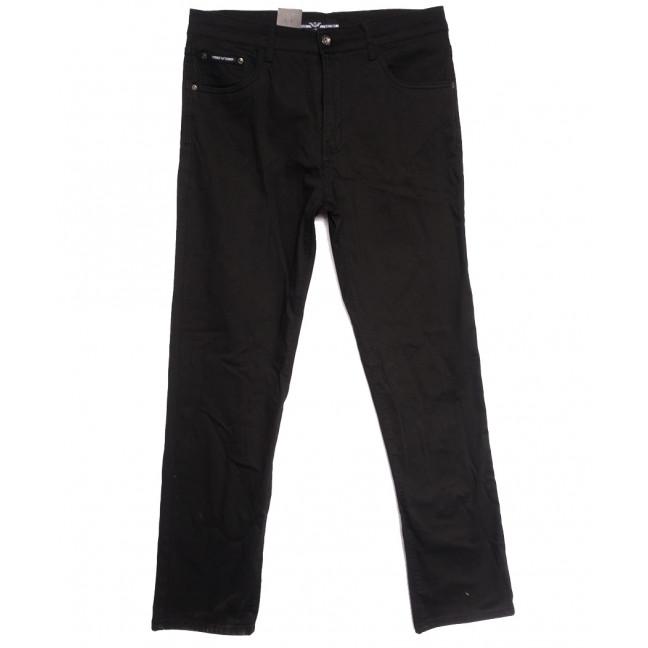 7071 (7071D) Vitions джинсы мужские батальные черные осенние стрейчевые (34-44, 8 ед.) Vitions: артикул 1114232