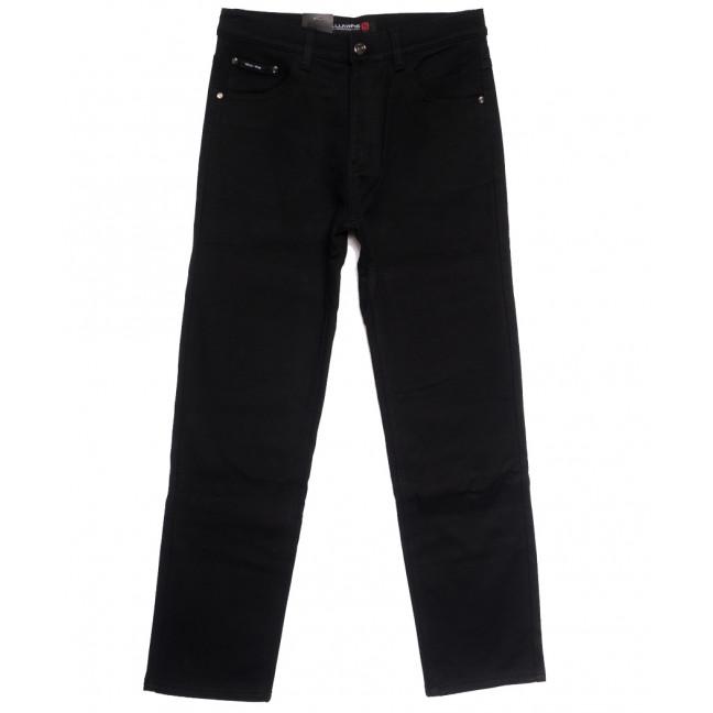 89020 LS джинсы мужские полубатальные на флисе черные зимние стрейчевые (32-38, 8 ед.) LS: артикул 1114575