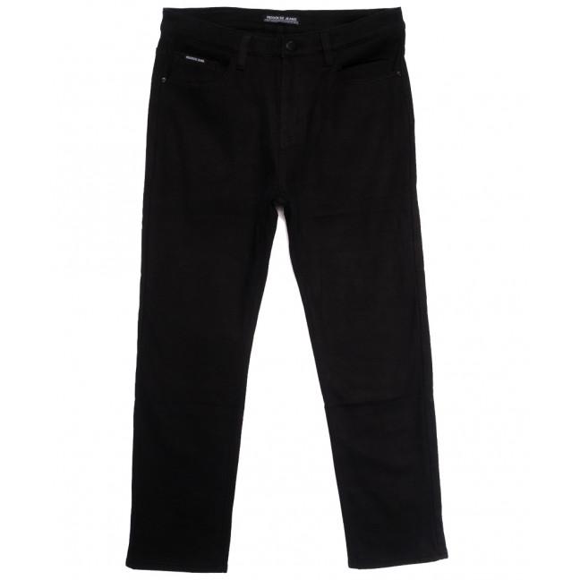 02377 Reigouse джинсы мужские батальные на флисе черные зимние стрейчевые (36-46, 8 ед.) REIGOUSE: артикул 1114684