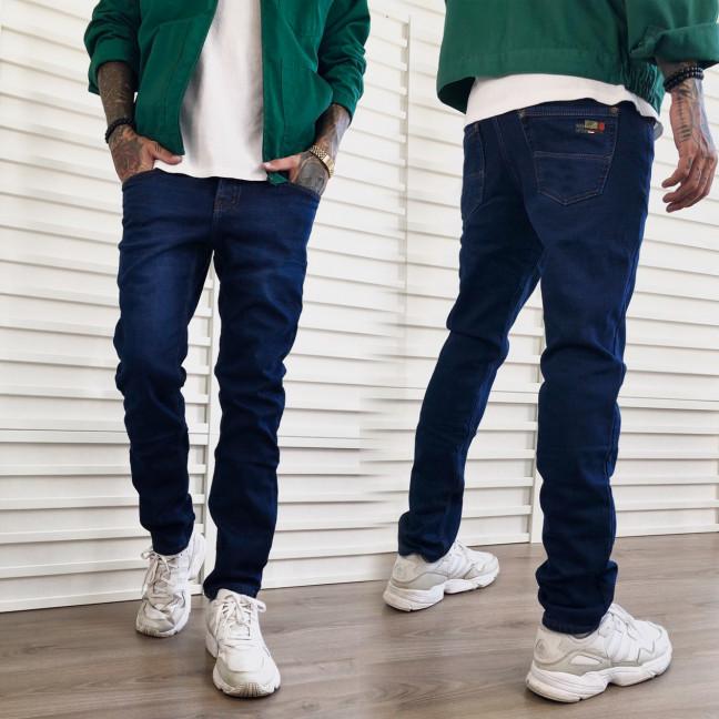 3017 Dsouaviet джинсы мужские полубатальные синие на флисе зимние стрейчевые (32-38, 8 ед.) Dsouaviet: артикул 1115318