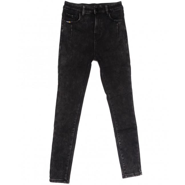 0579 New Jeans американка на флисе серая зимняя стрейчевая (25-30, 6 ед.) New Jeans: артикул 1113822