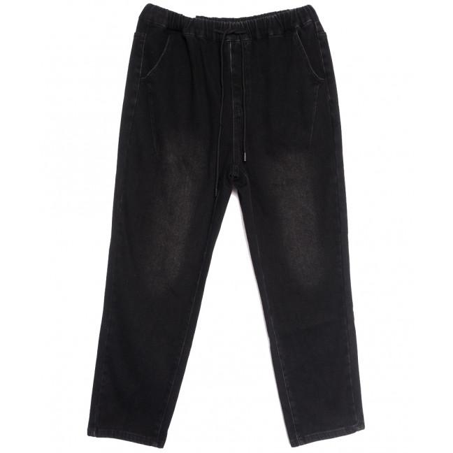 7781 Saint Wish джинсы женские на резинке на байке батальные темно-серые зимние стрейчевые (30-36, 6 ед.) Saint Wish: артикул 1114273