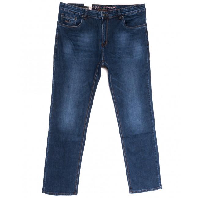 2620 Riggs джинсы мужские полубатальные синие осенние стрейчевые (32-42, 8 ед.) Rich Collection: артикул 1113576