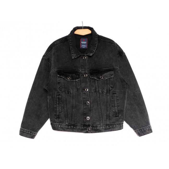 0600 Redmoon куртка джинсовая женская серая осенняя коттоновая (S-XL, 4 ед.) REDMOON: артикул 1114660