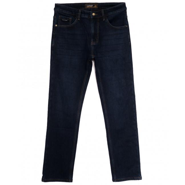00999 T-Star джинсы мужские полубатальные на флисе темно-синие зимние стрейчевые (32-40, 8 ед.) T-Star: артикул 1114688