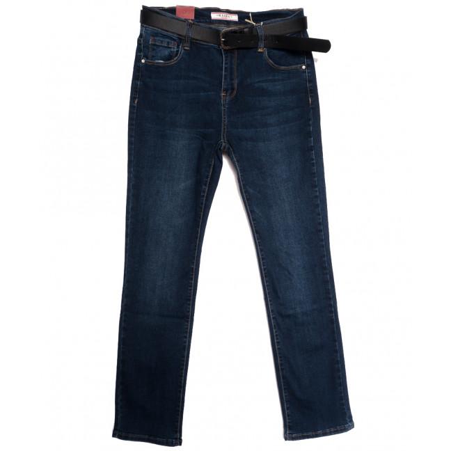6705 M.Sara джинсы женские батальные синие осенние стрейчевые (30-36, 6 ед.) M.Sara: артикул 1113514