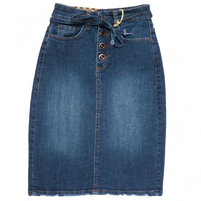 0822 синяя Redmoon юбка джинсовая осенняя стрейчевая (25-30, 6 ед.) REDMOON: артикул 1113999