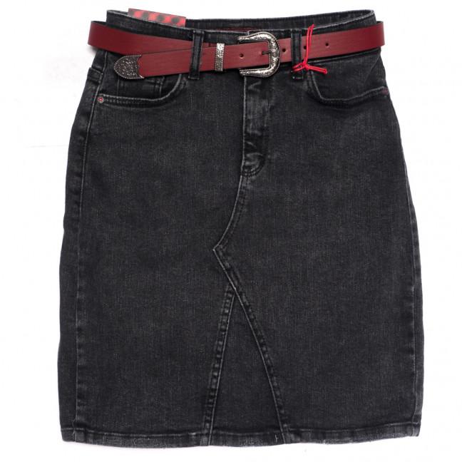0469 Redmoon юбка джинсовая серая осенняя стрейчевая (25-30, 6 ед.) REDMOON: артикул 1114659