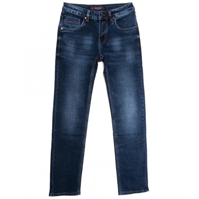 91125 Vifooss джинсы мужские синие осенние стрейчевые (29-38, 8 ед.) Vifooss: артикул 1113302