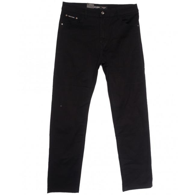 5052 (5052D) Vitions джинсы мужские батальные черные осенние стрейчевые (34-44, 8 ед.) Vitions: артикул 1113634