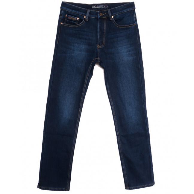 66049 Pr.Minos джинсы мужские полубатальные на флисе синие зимние стрейчевые (32-38, 8 ед.) Pr.Minos: артикул 1114137