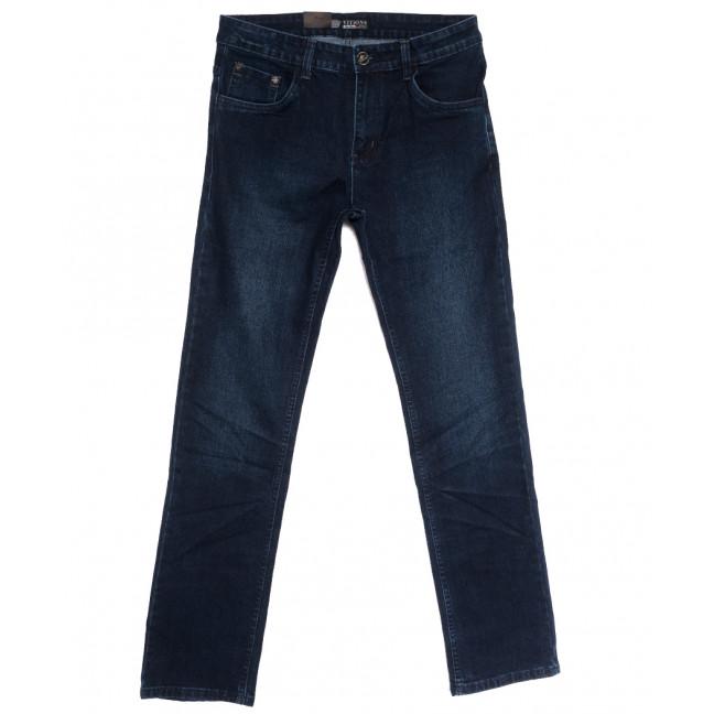 5096 (5096D) Vitions джинсы мужские полубатальные синие осенние стрейчевые (32-42, 8 ед.) Vitions: артикул 1113585