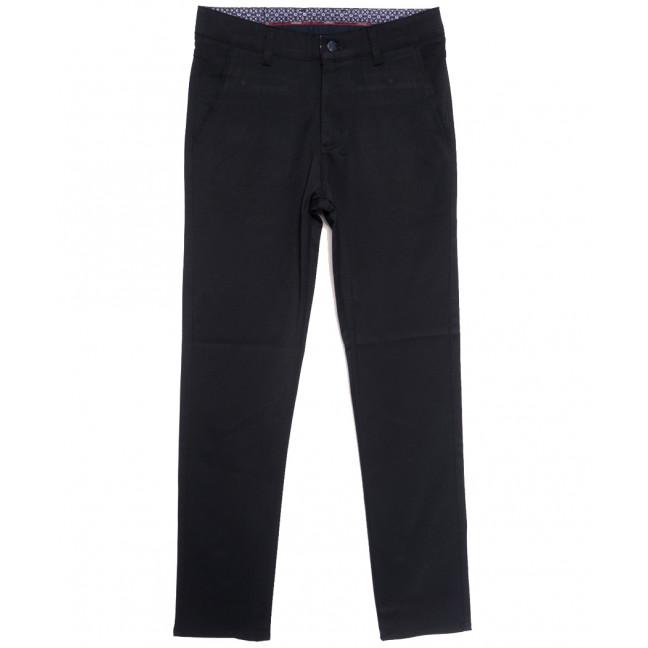 0905 темно-синие Dawsin брюки мужские осенние стрейчевые (31-42, 8 ед.) Dawsin: артикул 1114904