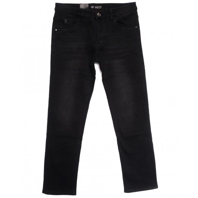 5115 Vitions джинсы мужские полубатальные на флисе черные зимние стрейчевые (32-38, 8 ед.) Vitions: артикул 1114574