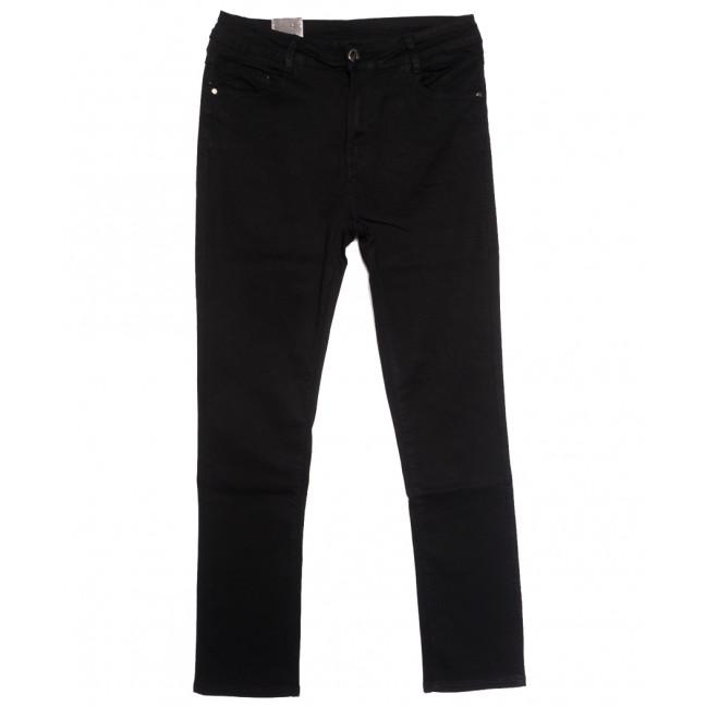 1289 Moon girl джинсы женские батальные черные осенние стрейчевые (31-42, 6 ед.) Moon Girl: артикул 1114714