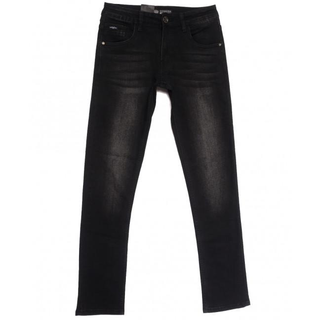 5073 (5073Х) Vitions джинсы мужские молодежные темно-серые осенние стрейчевые (28-36, 8 ед.) Vitions: артикул 1113599