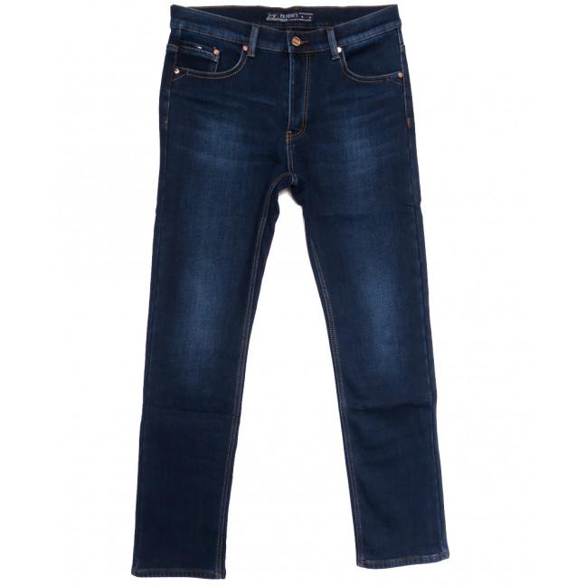 66052 Pr.Minos джинсы мужские полубатальные на флисе синие зимние стрейчевые (32-42, 8 ед.) Pr.Minos: артикул 1114135