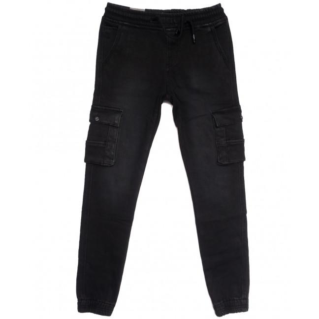 5110 (5110АТ) Vitions брюки карго на мальчика на флисе черные зимние стрейчевые (24-30, 7 ед.) Vitions: артикул 1114591